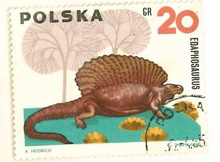 polska dinosaurs Edaphosaurus